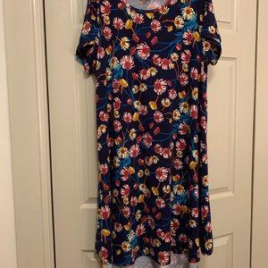 Floral Pocketless Carly Dress